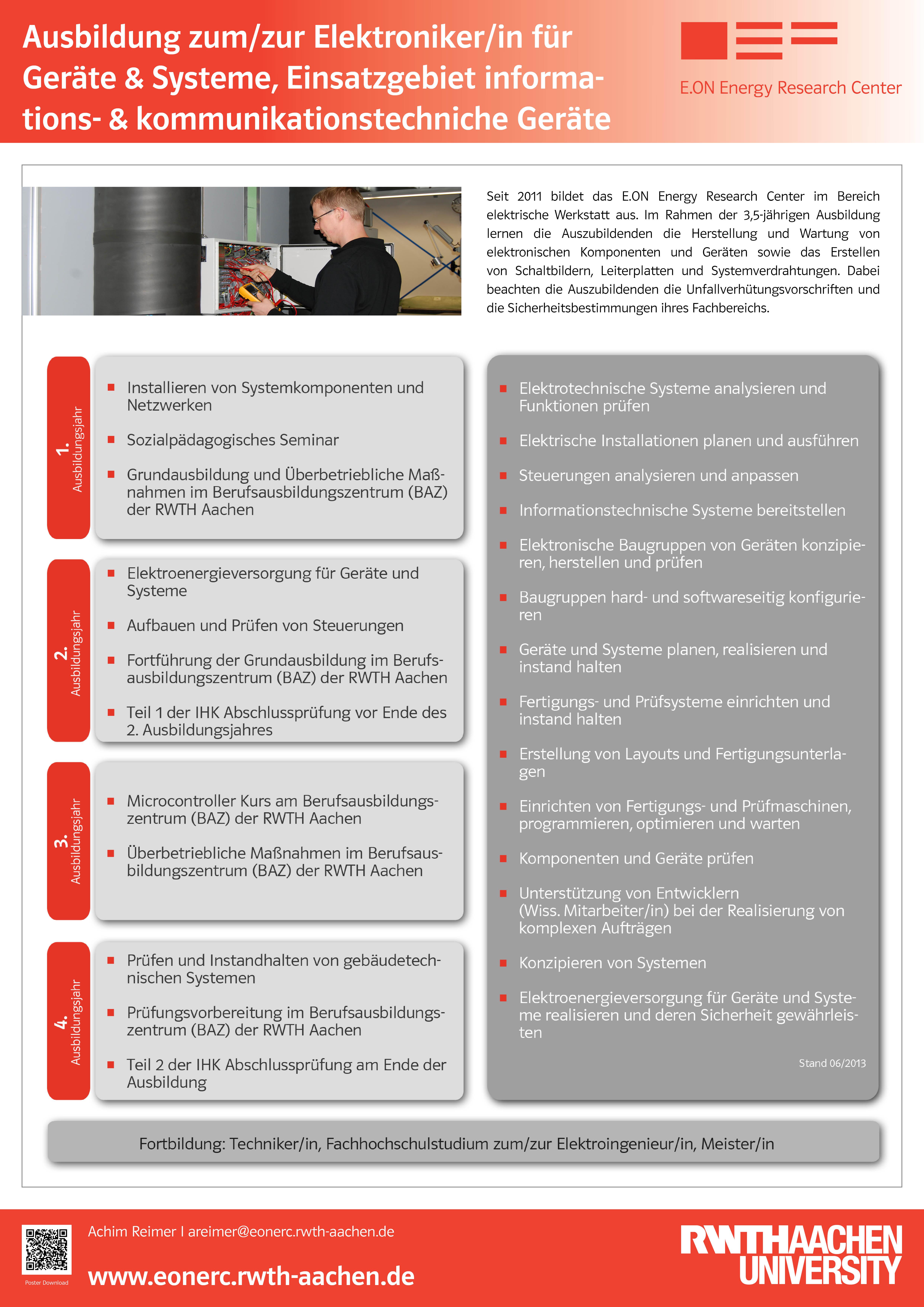 Elektronikerinnen Und Elektroniker Für Geräte Und Systeme Rwth